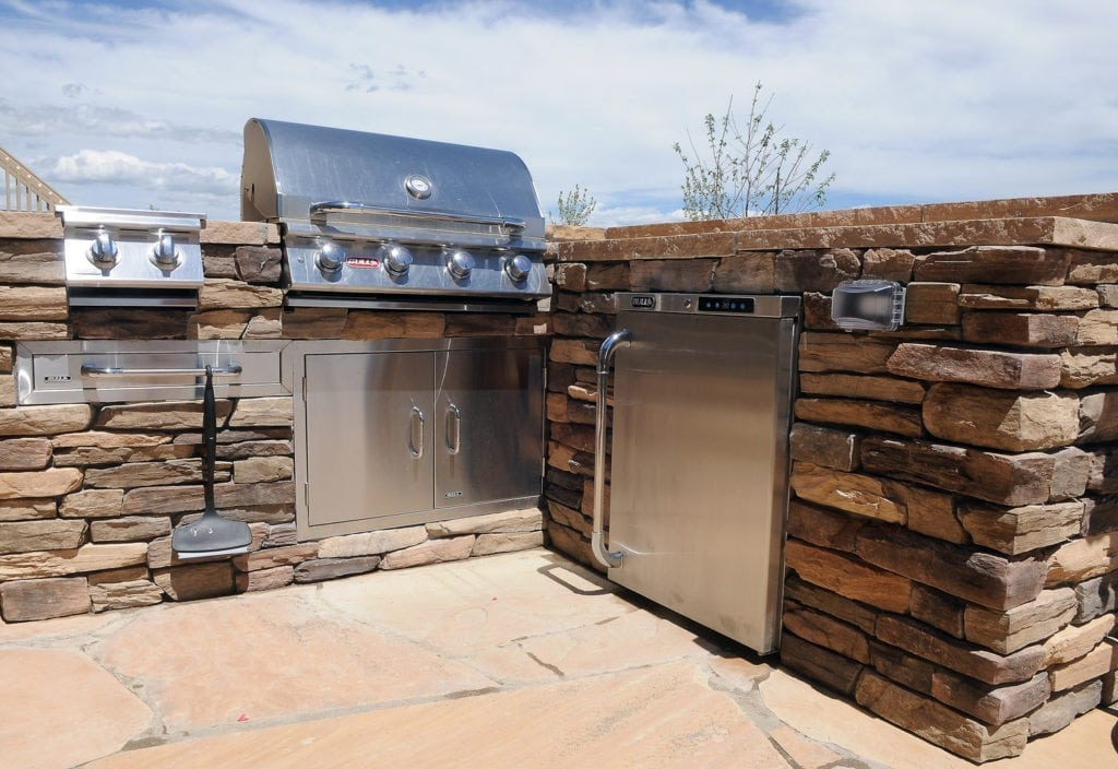 Outdoor Kitchen Construction Colorado Springs, CO
