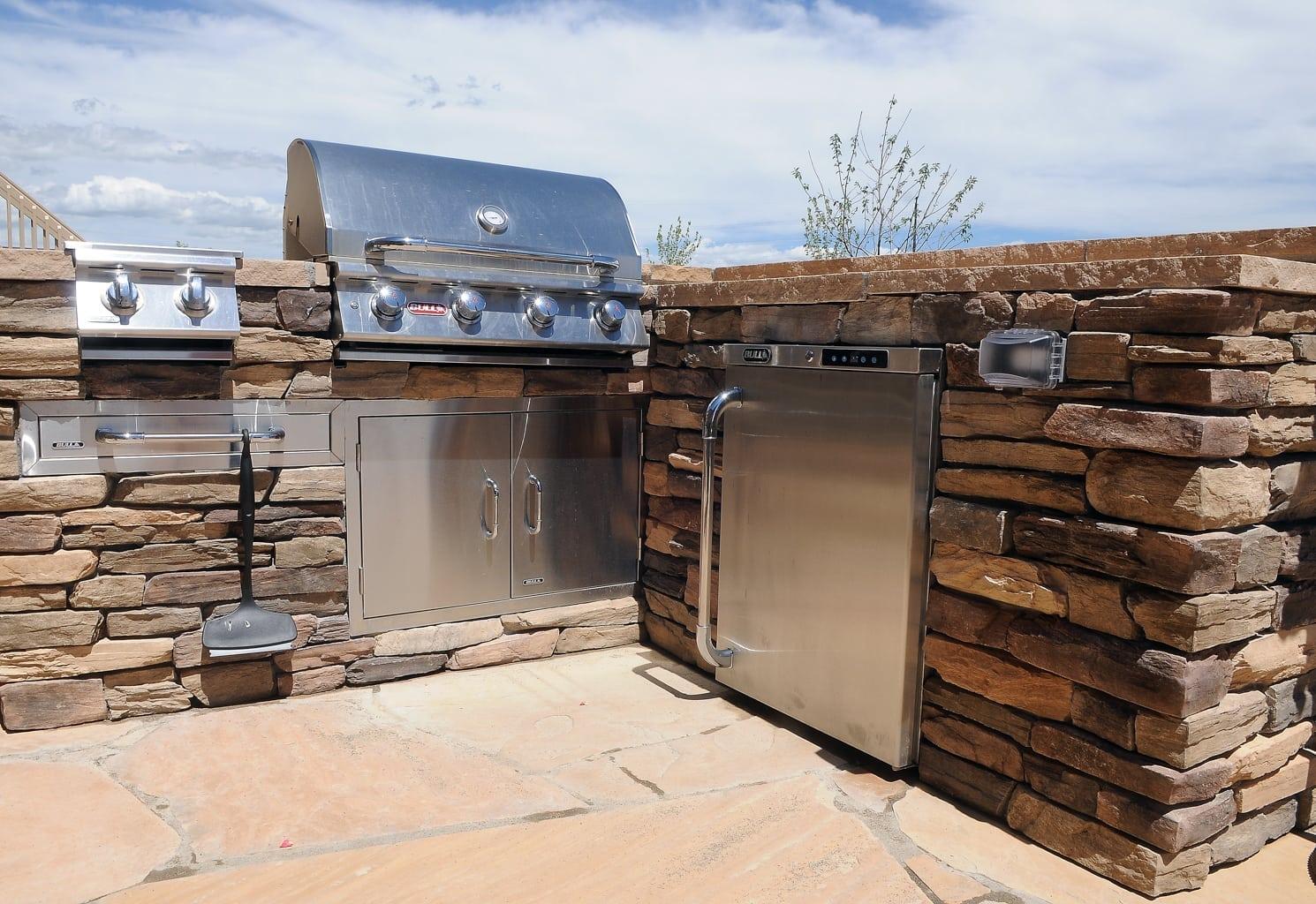 Outdoor Kitchen Construction Colorado Springs Co
