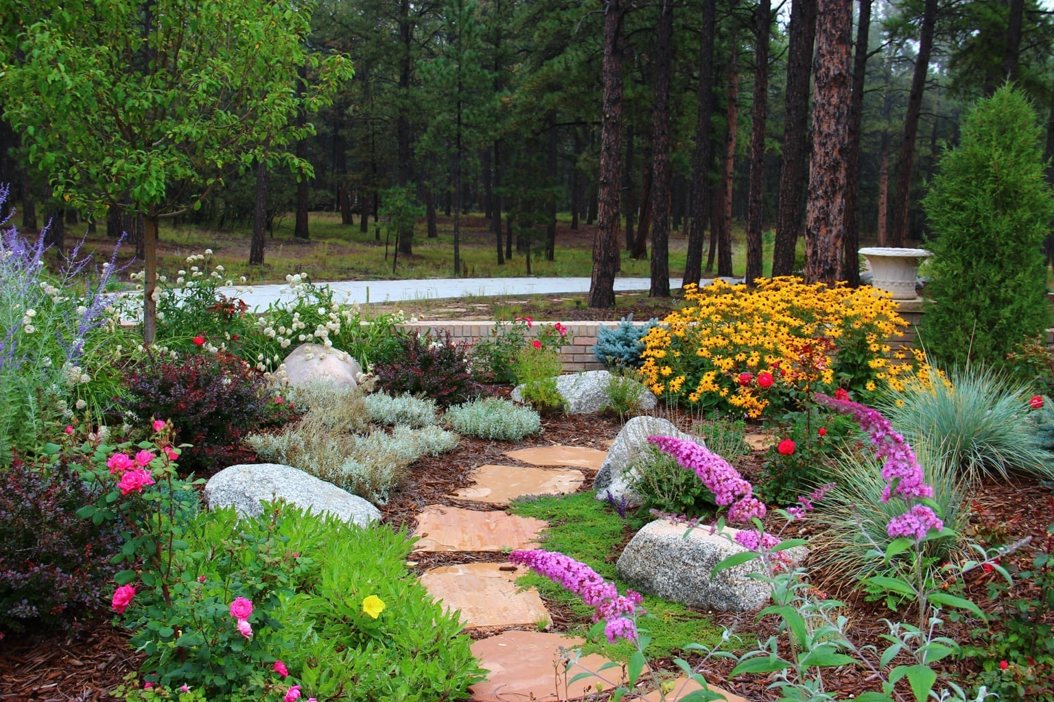 Xeriscape Colorado Springs | Colorado Xeriscaping - JakesDesigns on for front yard rock landscaping ideas, japanese back yard landscaping ideas, small backyard landscape ideas, inexpensive landscaping ideas, modern back yard landscaping ideas,