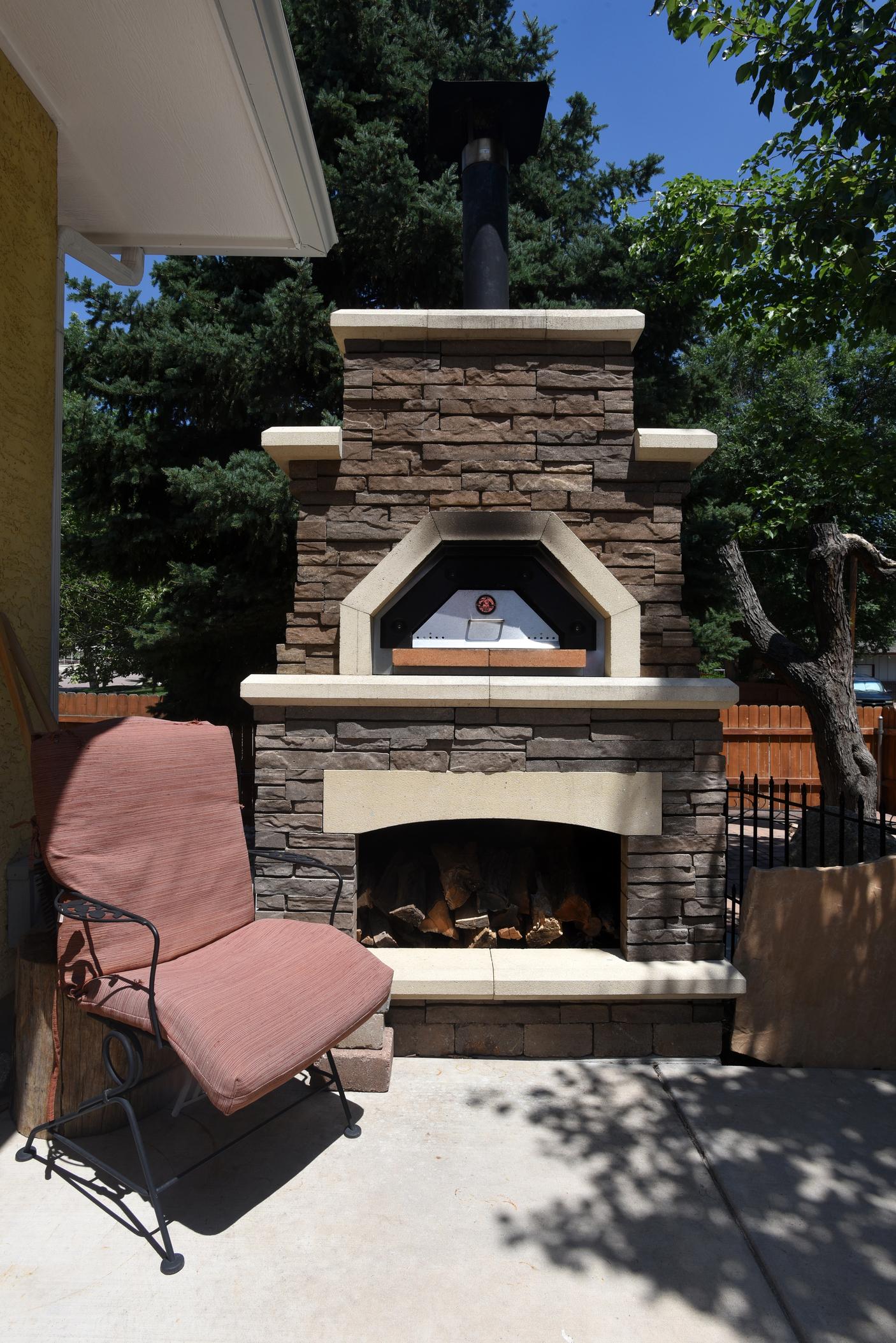 Broadmoor, Colorado Outdoor Kitchen Design