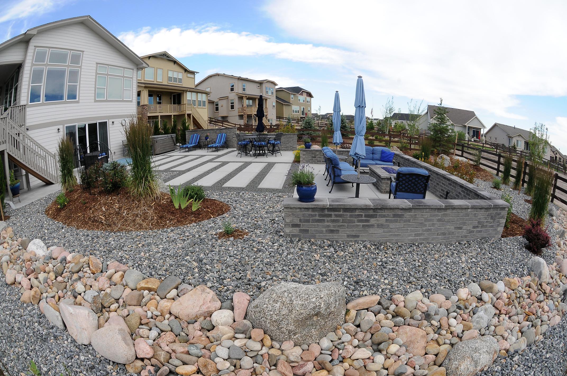 Broadmoor, Colorado Landscape Construction