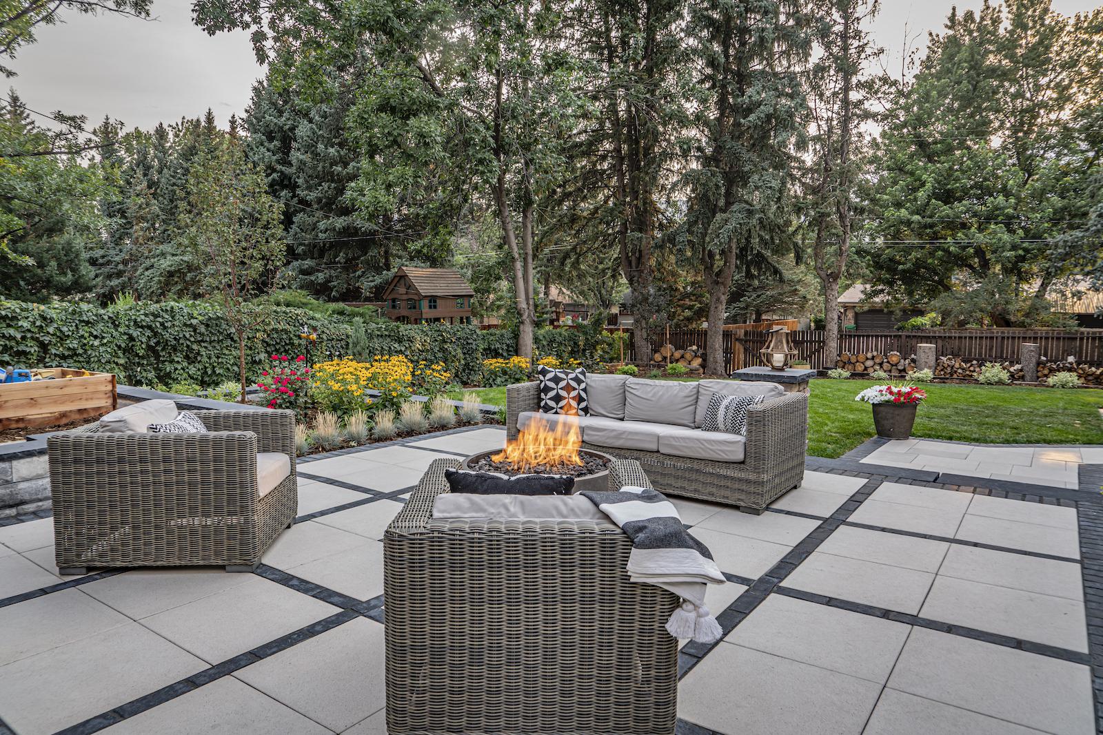 patio angle